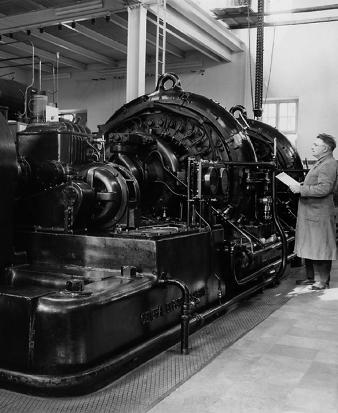 Alexanderson alternatorn